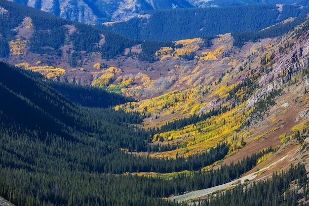 Berglandschaft in colorado rocky mountains, colorado, vereinigte staaten.