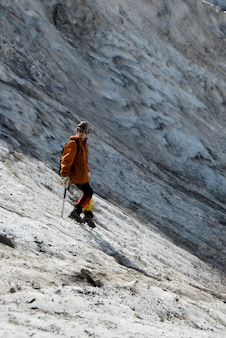 Bergsteiger mädchen
