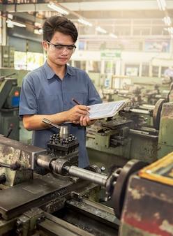 Bericht des fabrikarbeiters
