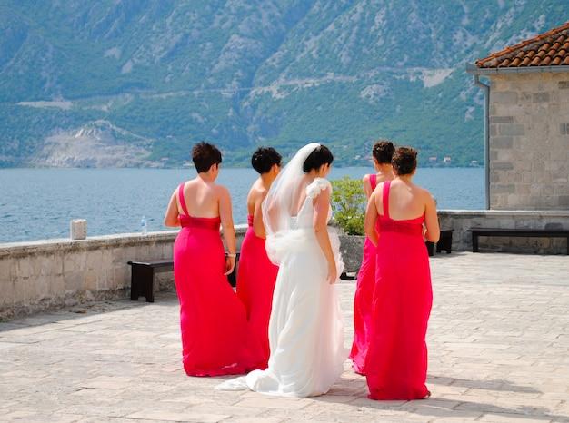 Berichterstattung - montenegrinische hochzeit