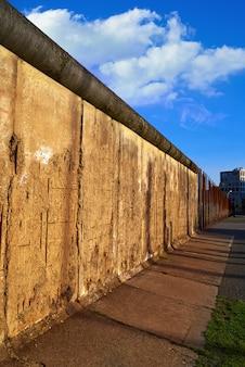 Berliner mauer denkmal in deutschland