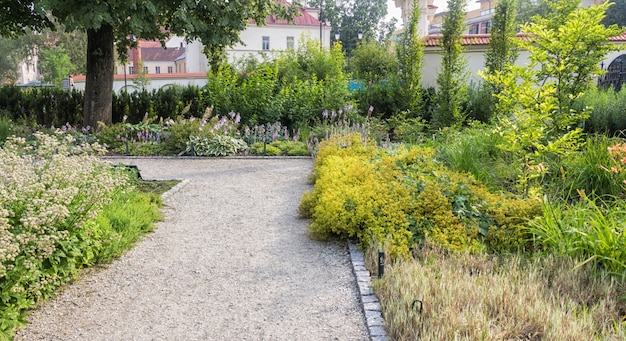 Bernardine gardens park im zentrum von vilnius