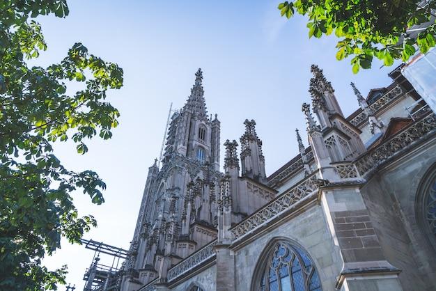 Berner munster kathedrale in der schweiz