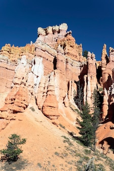 Berühmte ansicht des navajo-pfades im bryce canyon, utah