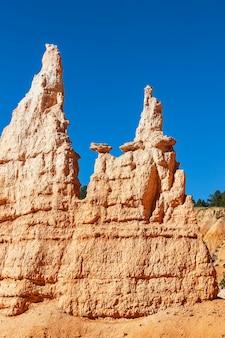 Berühmte hoodoos im bryce canyon