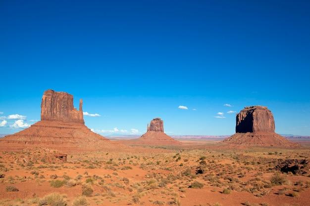 Berühmte landschaft von monument valley, usa