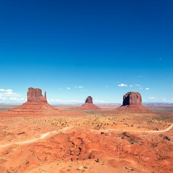 Berühmte landschaft von monument valley, utah, usa.