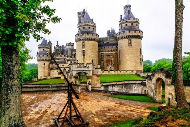 Berühmte mittelalterliche schlösser frankreichs, pierrefonds