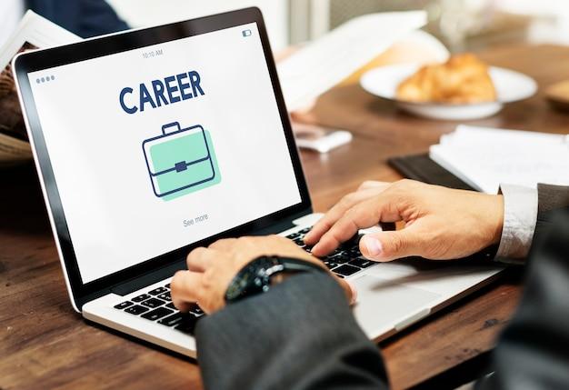 Beschäftigung karriere job suche personalbeschaffung