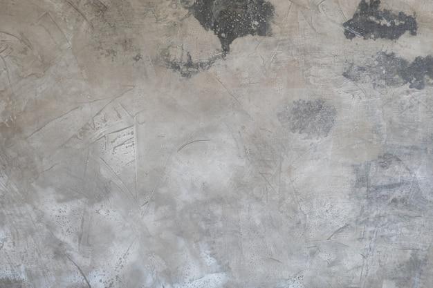 Beschaffenheit der alten grauen konkreten stuckwand