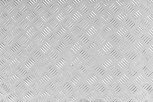 Beschaffenheit der edelstahlbodenplatte, metallisches blatt mit rauen motiven. muster der gestrippten quadrate