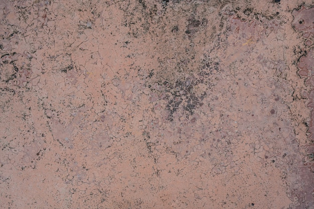 Beschaffenheit der roten betonmauer des schmutzes für hintergrund