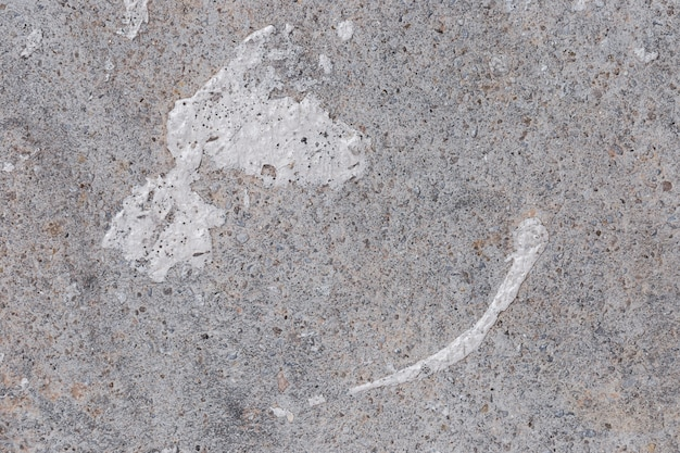 Beschaffenheit des abschlusses herauf betonmauer