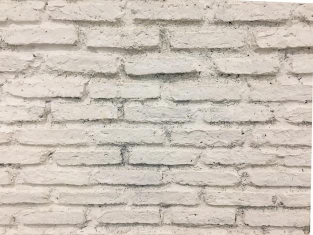 Beschaffenheit des abstrakten backsteinmauerhintergrundes, heller weißer ton