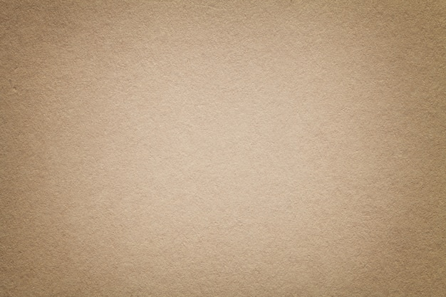 Beschaffenheit des alten hellbraunen papierhintergrundes