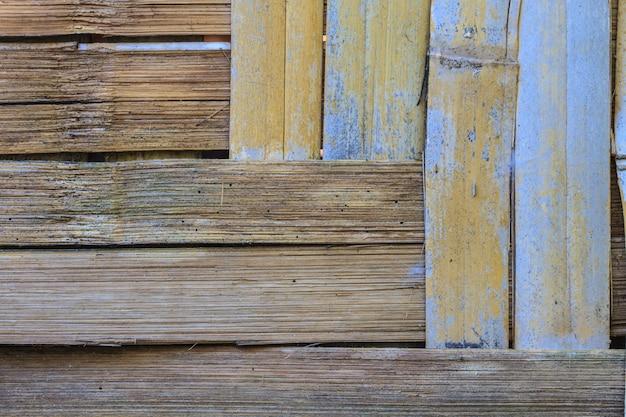 Beschaffenheit des bambuswandhintergrundes