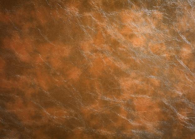 Beschaffenheit des braunen ledernen hintergrundes. materialoberfläche aus tierhaut.