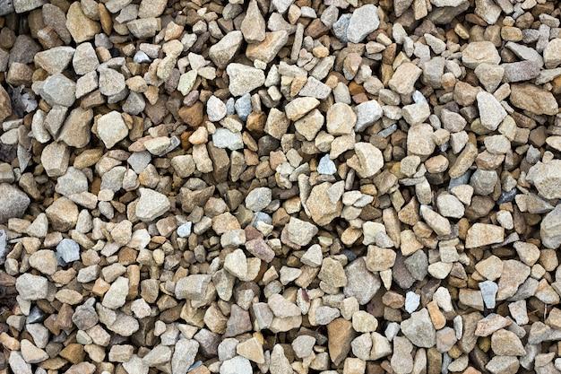 Beschaffenheit des farbigen zerquetschten steins
