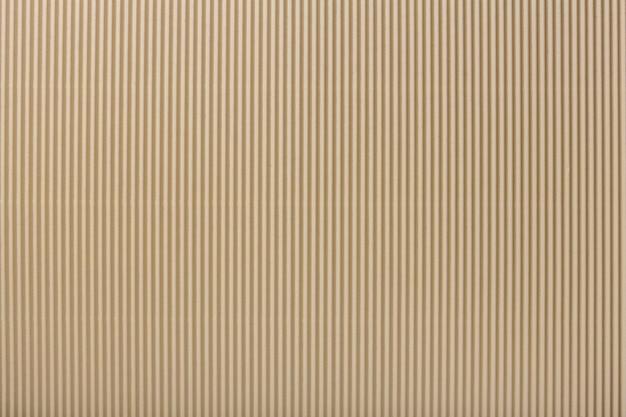 Beschaffenheit des gewellten hellen beige papiers