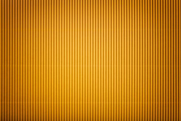 Beschaffenheit des gewölbten gelben papiers mit vignette