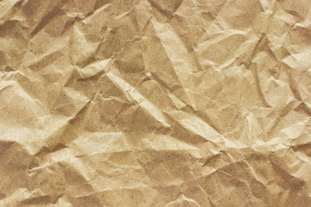Beschaffenheit des groben zerknitterten papiers, hintergrund