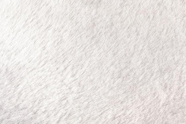 Beschaffenheit des shaggy pelzhintergrundes. detail des weichen haarigen hautmaterials.