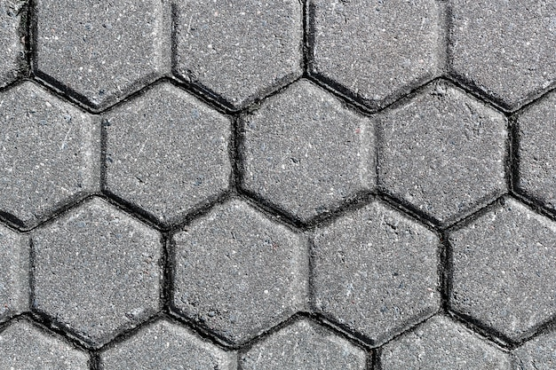 Beschaffenheit des steinpflastersteins. hintergrund der pflastersteine