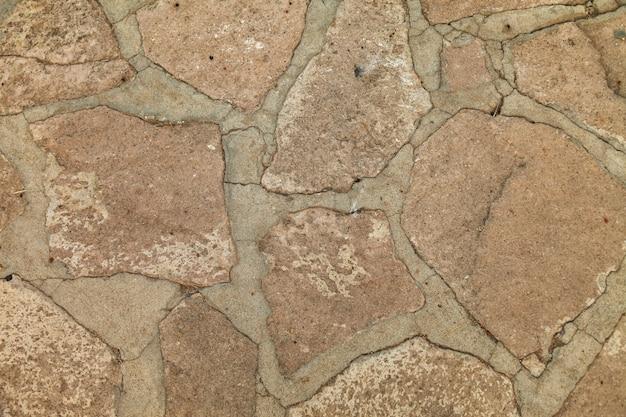 Beschaffenheit des steinwandhintergrundes. nahansicht