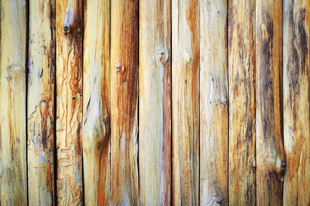 Beschaffenheitshintergrund des bretterzauns (barke), rustikale art