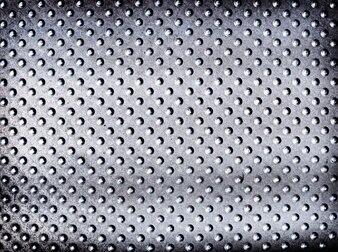 Beschmutzter silberner metallischer strukturierter Hintergrund