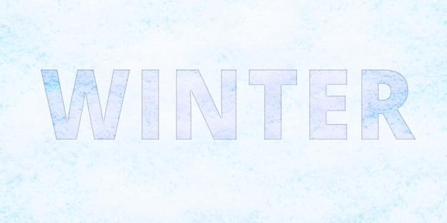 Beschriftungswinter im schneebedeckten. doppelbelichtung, mehrfachbelichtung.