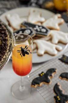 Besondere leckereien für halloween-party