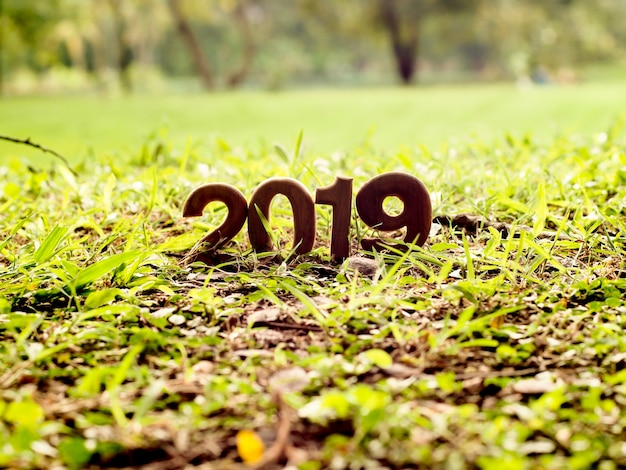 Bestes glückliches neues jahr 2019