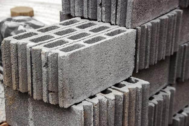 Betonblock für den bau