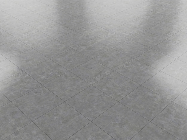 Betonboden marmor sauber keramikfliesen 3d render textur