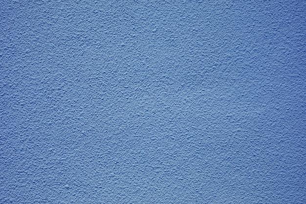 Betonmauer in der blauen farbe, raue beschaffenheit für hintergrund