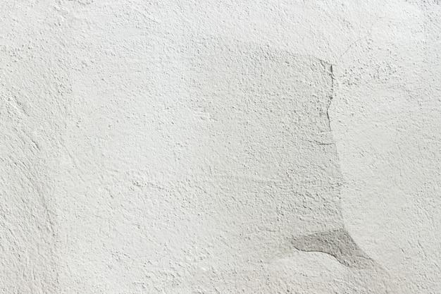 Betonmauerbeschaffenheitshintergrund. alte weiße wand mit einem sprung