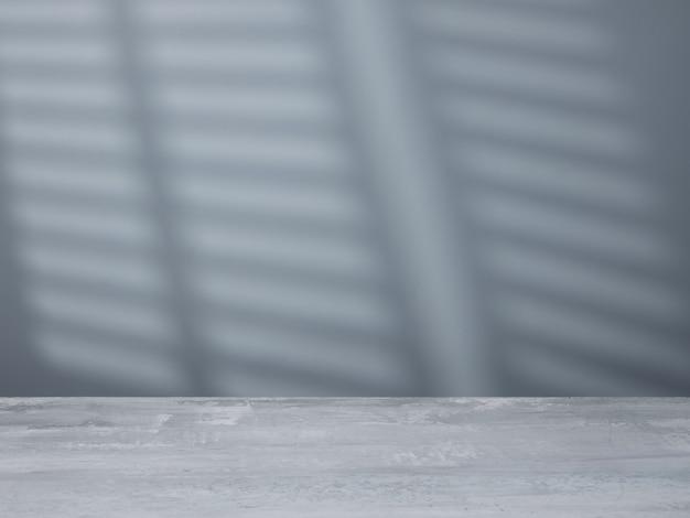 Betonoberfläche im hintergrund der wand mit licht aus dem fenster
