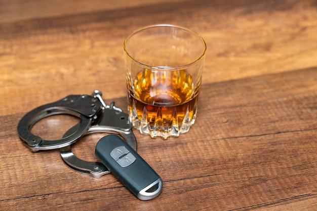Betrunken fahren.