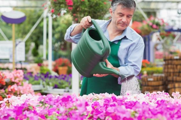 Bewässerungsanlagen des floristen
