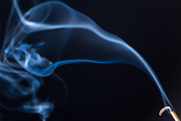 Bewegung von weißem rauch
