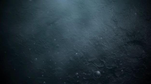 Bewegungs- und fliegenpartikel auf filmischem hintergrund mit grunge-textur. luxuriöse und elegante 3d-darstellung des kinothemas