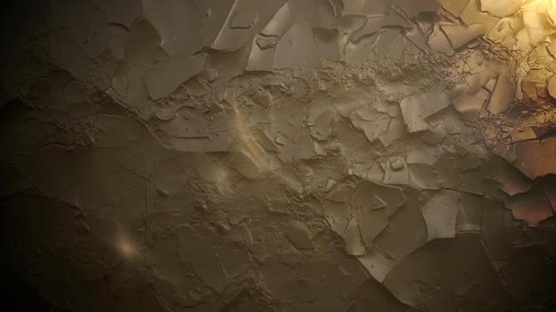 Bewegungsrauch auf filmischem hintergrund mit steinbeschaffenheit. luxuriöse und elegante 3d-darstellung des kinothemas