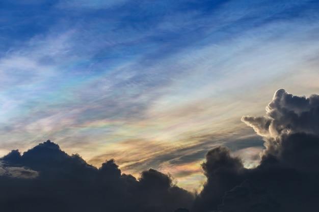 Bewölkter himmel