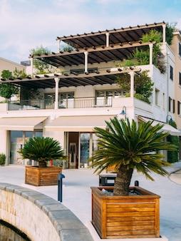 Bezirk porto montenegro elite cottages villen am meer