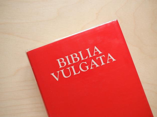 Biblia vulgata (vulgata bibel)