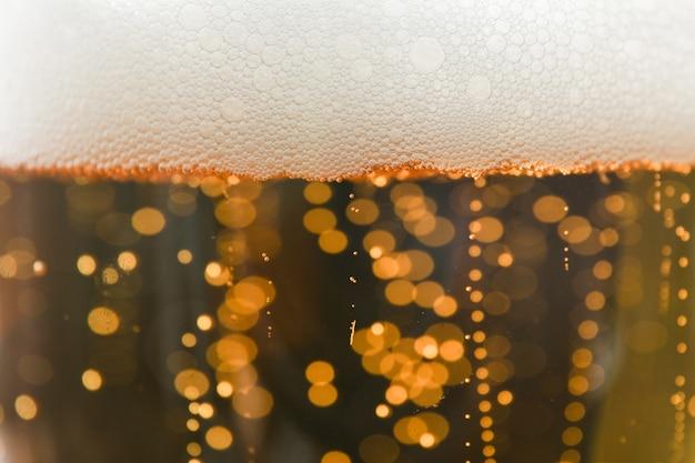 Bier und schaum textur insgesamt