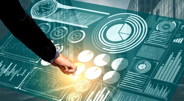 Big data-technologie für unternehmensfinanzierung