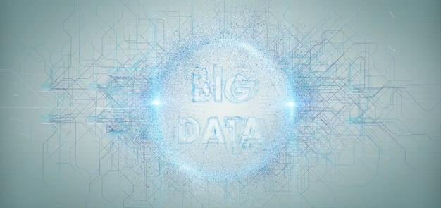 Big data-titel isoliert