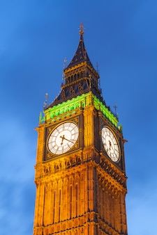 Bigben und parlamentsgebäude in london england, großbritannien